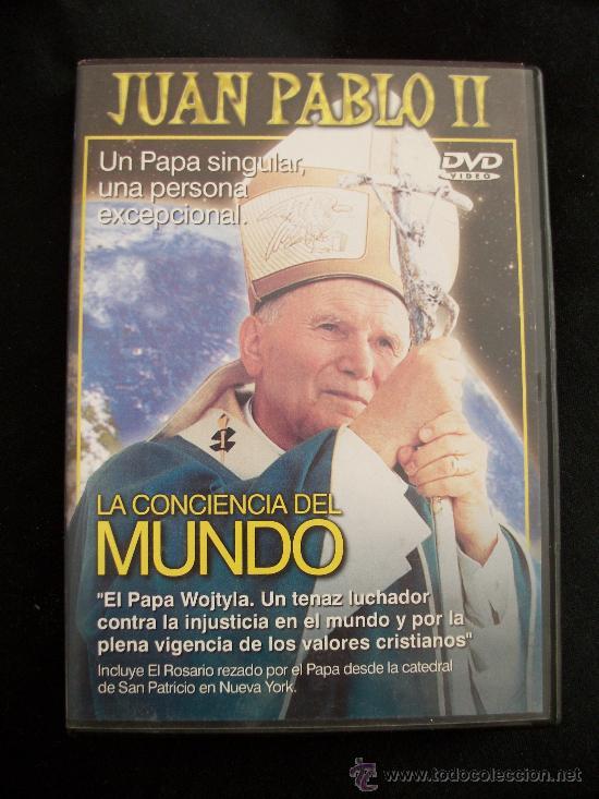DVD - JUAN PABLO II - LA CONCIENCIA DEL MUNDO (Cine - Biografías)