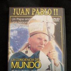 Cine: DVD - JUAN PABLO II - LA CONCIENCIA DEL MUNDO. Lote 34633704
