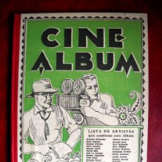 Cine: CINE MUDO 1927 - CINE ÁLBUM - ED. IBERIA . Lote 34642829