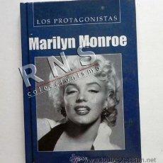 Cine: LIBRO BIOGRAFÍA DE MARILYN MONROE - PROTAGONISTAS ACTRIZ EEUU CINE VIDA MARILIN MARYLIN MONRO ÍDOLO. Lote 27271062