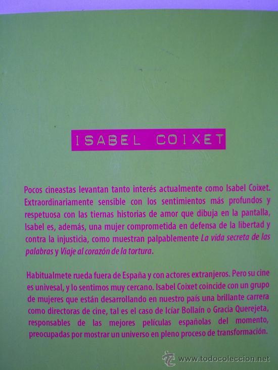 Cine: Isabel Coixet, por Rafael Cerrato. Prólogo de la actriz y directora Sarah Polley. - Foto 2 - 139714469