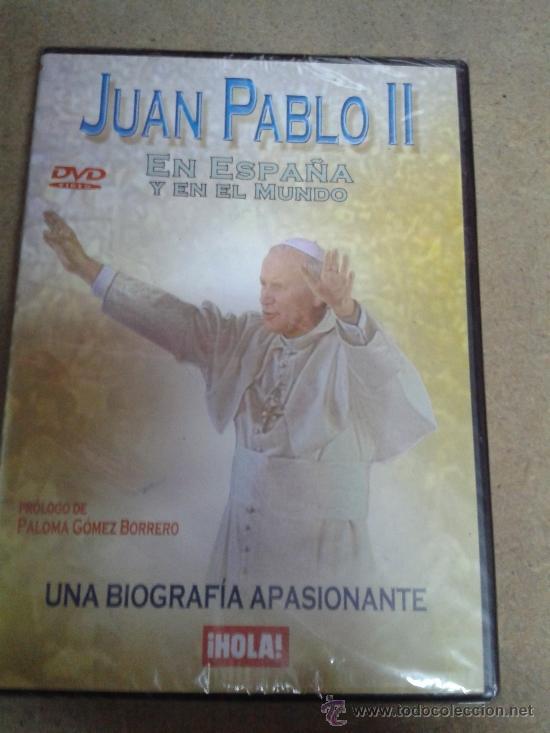 DVD JUAN PABLO II EN ESPAÑA Y EN EL MUNDO (Cine - Biografías)