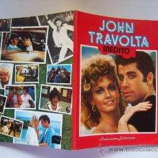 Cinema: TRAVOLTA INÉDITO. LLENO DE FOTOGRAFÍAS. ALBUM MONOGRÁFICO SOBRE EL ACTOR JOHN TRAVOLTA. Lote 38121163