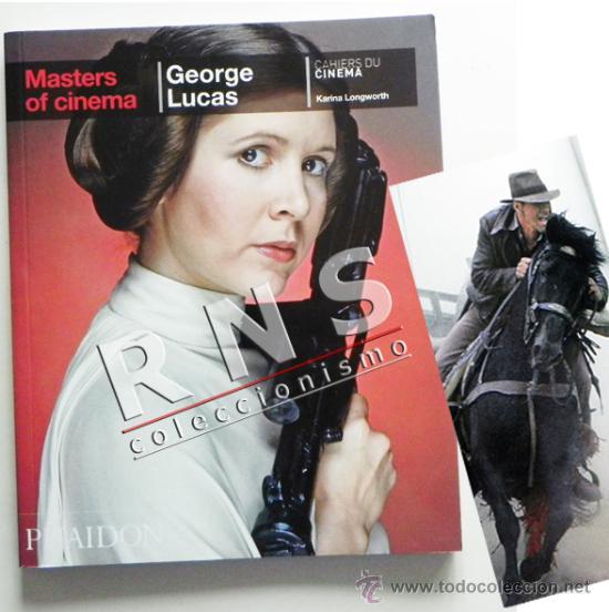 GEORGE LUCAS MASTERS OF CINEMA - BIOGRAFÍA DIRECTOR STAR WARS INDIANA JONES ETC FOTOS CINE LIBRO (Cine - Biografías)