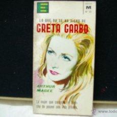 Cine: GRETA GARBO -ARTUR MAGEE -EDICIONES G.P.. Lote 40312074