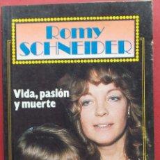 Cine: ROMY SCHNEIDER - VIDA PASIÓN Y MUERTE - GRANDES VIDA DE GARBO. Lote 40978451