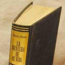 Cine: LA AVENTURA DE MI VIDA, POR DAVID NIVEN. DE LA ACADEMIA MILITAR DE SANDHURTS A HOLLYWOOD.TAPA DURA. Lote 109064552