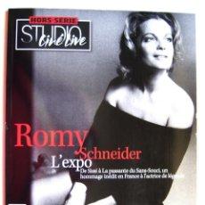 Cine: ROMY SCHNEIDER. STUDIO CINÉ LIVE. L´EXPO. MONOGRAFÍA. Lote 42609736