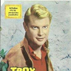 Cine: TROY DONAHUE LIBRETO BIOGRAFIA 20 PAGINAS CON FOTOS AÑO 1964. Lote 42851494