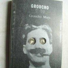 Cine: GROUCHO Y YO. MARX, GROUCHO. 1980. Lote 43975644