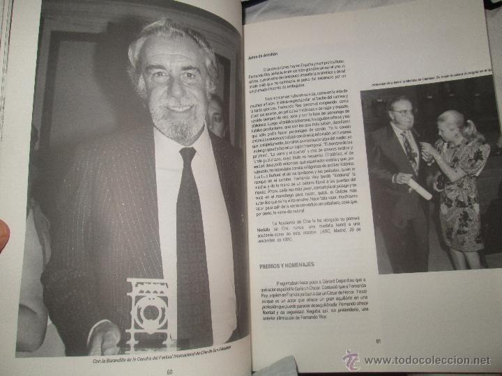 FERNANDO REY - PASCUAL CEBOLLADA ES UN LIBRO DEL C.I.L.E.H. CENTRO DE INVESTIGACIONES LITERARIAS (Cine - Biografías)