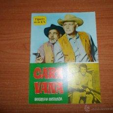 Cinéma: FIGURAS DE LA T.V. CARAVANA BIOGRAFIA ILUSTRADA EDICIONES ESTE 1965. Lote 44170299