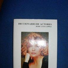 Cine: DICCIONARIO DE ACTORES - JOSE LUIS LOPEZ. Lote 44656959