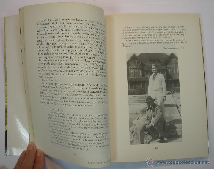 Cine: KATHERINE HEPBURN, AUTOBIOGRAFIA. COLECCION PRIMER PLANO, EDICIONES B 1991 1ª ED. - Foto 4 - 34398591
