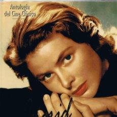 Cine: M - ANTOLOGIA DEL CINE CLASICO - INGRID BERGMAN - TODAS LAS PELICULAS - RBA EDITORES 1994. Lote 45540459