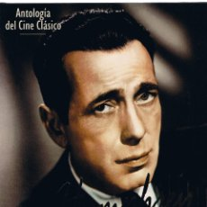 Cine: M - ANTOLOGIA DEL CINE CLASICO - HUMPHREY BOGART - TODAS LAS PELICULAS - RBA EDITORES 1994. Lote 45540563