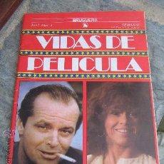 Cine: LIBRO DE CINE: JACK NICHOLSON - JANE FONDA 1986 . Lote 22710290