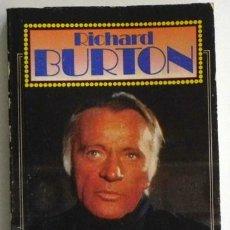 Cine: RICHARD BURTON - BIOGRAFÍA DE ACTOR BRITÁNICO - CINE TEATRO - PELÍCULAS - LIZ TAYLOR - LIBRO GARBO. Lote 47001416