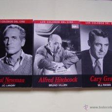 Cine: 3 LIBROS LOS COLOSOS DEL CINE: NEWMAN, GRANT Y HITCHCOCK (CINEMA CLUB,1990) ¡1ª EDICIÓN!. Lote 47036659