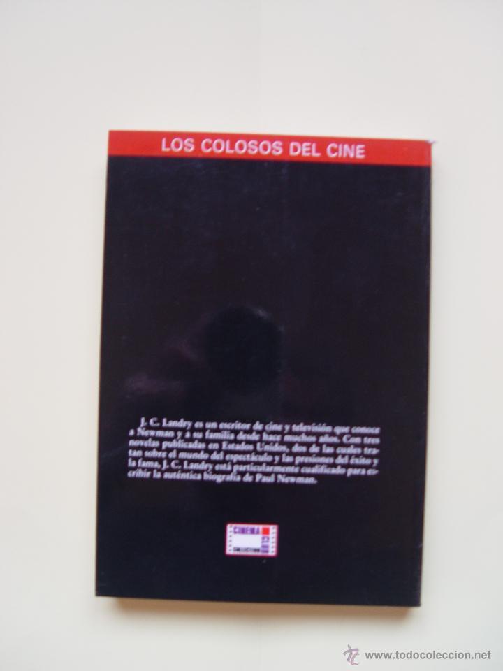 Cine: 3 Libros LOS COLOSOS DEL CINE: Newman, Grant y Hitchcock (Cinema Club,1990) ¡1ª edición! - Foto 5 - 47036659