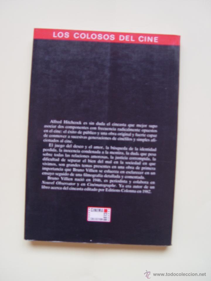 Cine: 3 Libros LOS COLOSOS DEL CINE: Newman, Grant y Hitchcock (Cinema Club,1990) ¡1ª edición! - Foto 6 - 47036659