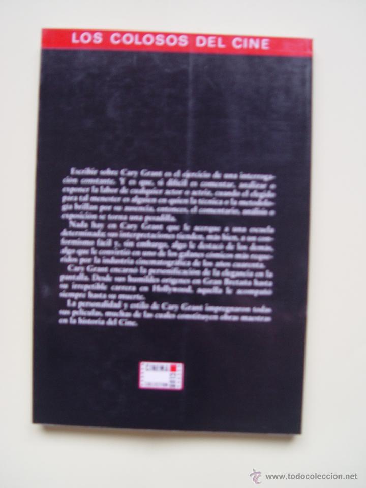 Cine: 3 Libros LOS COLOSOS DEL CINE: Newman, Grant y Hitchcock (Cinema Club,1990) ¡1ª edición! - Foto 7 - 47036659