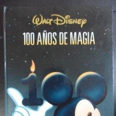 Cine: WALT DISNEY. 100 AÑOS DE MAGIA. EL PAIS-AGUILAR. AÑO 2001. TAPA DURA. ILUSTRADO A TODO COLOR. 203 PA. Lote 66743574