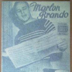 Cinema: COLECCION IDOLOS DEL CINE MARLON BRANDO Nº 7 1958. Lote 48316304