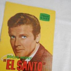 Cine: ROGER MORE. EL SANTO BIOGRAFIA ILUSTRADA. Lote 82313482