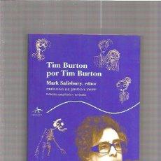Cine: TIM BURTON POR TIM BURTON. Lote 49105863