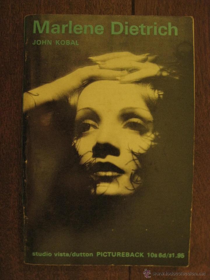MARLENE DIETRICH - JOHN KOBAL - AÑO 1968 (Cine - Biografías)