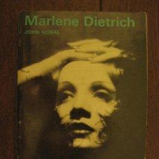 Cine: MARLENE DIETRICH - JOHN KOBAL - AÑO 1968. Lote 49250908