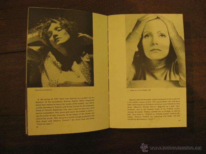 Cine: MARLENE DIETRICH - JOHN KOBAL - AÑO 1968 - Foto 2 - 49250908