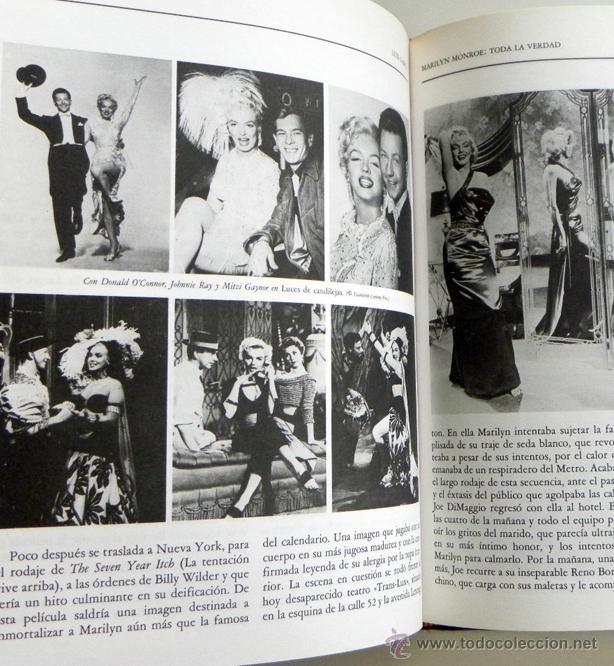 MARILYN MONROE TODA LA VERDAD - LUIS GASCA -MUCHAS FOTOS - BIOGRAFÍA DE ACTRIZ CINE EEUU LIBRO MONRO (Cine - Biografías)