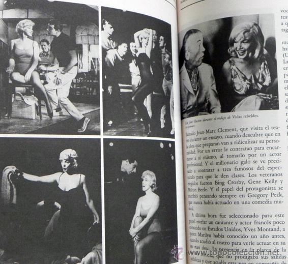 Cine: MARILYN MONROE TODA LA VERDAD - LUIS GASCA -MUCHAS FOTOS - BIOGRAFÍA DE ACTRIZ CINE EEUU LIBRO MONRO - Foto 5 - 49867347