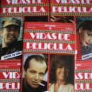 Cine: NICHOLSON-FONDA-STALLONE-HUPPERT-DE NIRO-ADJANI-NEWMAN-MADONNA VIDAS DE PELÍCULA 5 TOMOS NUEVO 1986. Lote 49924671