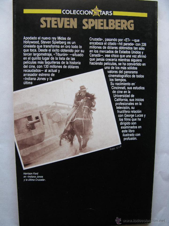 Cine: LA ULTIMA CRUZADA DE SPIELBERG. FOTOGRAMAS LIBROS. 1989. 82 PÁGS. TAPA BLANDA. - Foto 2 - 50031503