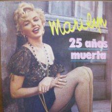Cine: MARILYN MONROE. 25 AÑOS MUERTA. REVISTA EL CASO EXTRA. 1987. 32 PAGINAS (COMO NUEVA). Lote 50035109