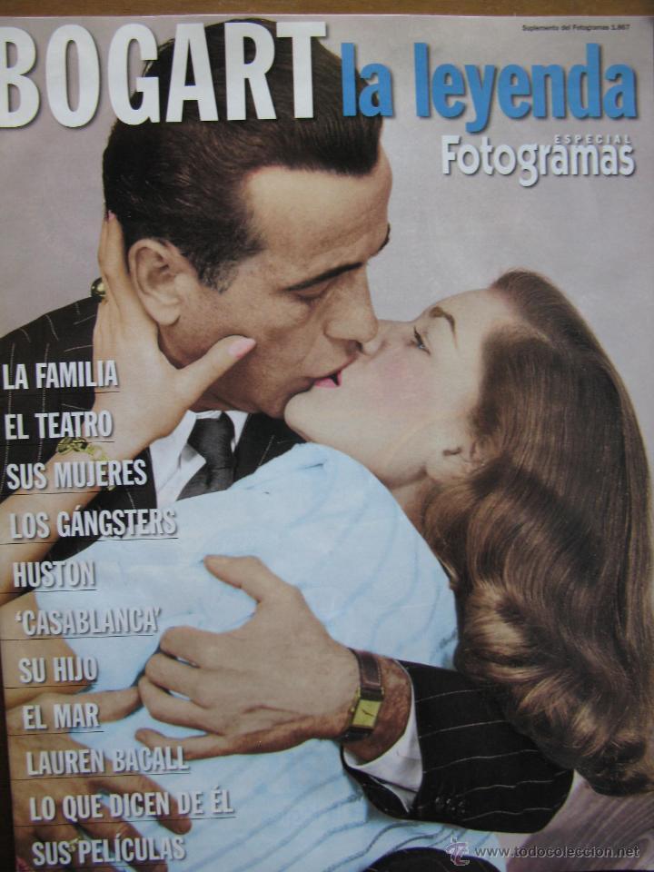 BOGART LA LEYENDA. ESPECIAL FOTOGRAMAS. 48 PAGINAS. MAYO 1999. (COMO NUEVO) (Cine - Biografías)