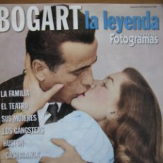 Cine: BOGART LA LEYENDA. ESPECIAL FOTOGRAMAS. 48 PAGINAS. MAYO 1999. (COMO NUEVO). Lote 50035174