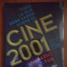 Cine: TODO LOS DEBE SABER SOBRE EL CINE 2001. ANUARIO T&B. JAVIER Y MIGUEL JUAN PAYAN. INCLUYE CD. ANECDOT. Lote 50345934