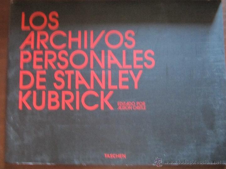 Cine: STANLEY KUBRICK - ARCHIVOS PERSONALES / ED. TASCHEN + 9 DVD ¡¡ ENVIO GRATIS¡¡ - Foto 2 - 50479764