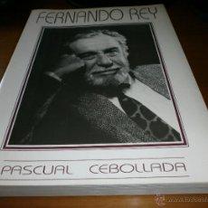 Cine: FERNANDO REY - PASCUAL CEBOLLADA - C.I.L.E.H - 1992.. Lote 50801161