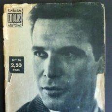 Cine: COLECCIÓN IDOLOS DE CINE Nº 14 DEL AÑO 1958 , FRANCISCO RABAL. VER FOTOGRAFÍAS Y COMENTARIOS. Lote 50825028