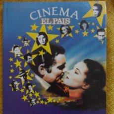 Cine: LA HISTORIA DEL CINE. CINEMA EL PAIS. COLECCIONABLE DE 310 PAGINAS ENCUADERNADO. AÑO 1990. 860 GRAMO. Lote 101493012