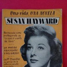 Cine: UNA VIDA, UNA NOVELA Nº 20 - SUSAN HAYWARD - 32 PAGINAS - ACTRIZ CINE ..R-633. Lote 52976872