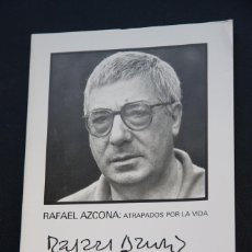 Cine: RAFAEL AZCONA - ATRAPADOS POR LA VIDA - JUAN CARLOS FRUGONE - 32 SEMANA DE CINE VALLADOLID - 1987. Lote 53820133