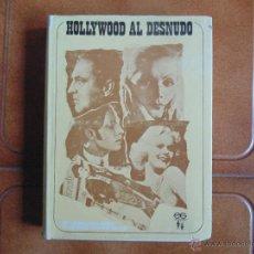 Cine: BIOGRAFIAS -HOLLYWOOD AL DESNUDO -EDICIONES GEMINIS 1968,276 PAJINAS FOTOS. Lote 54029259