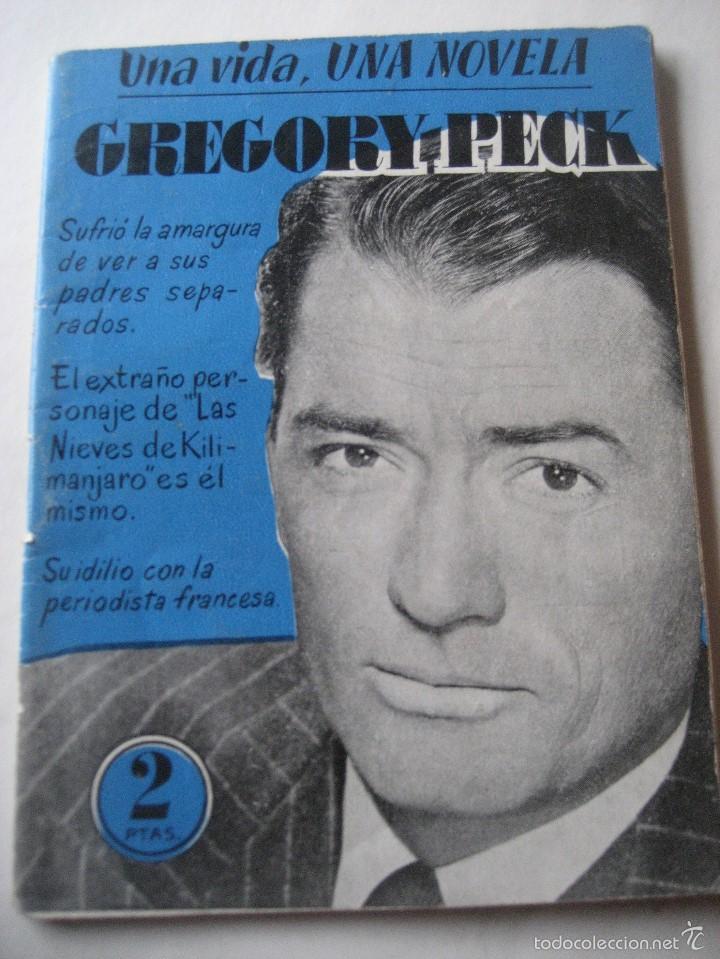 GREGORY PECK. UNA VIDA, UNA NOVELA. VOLUMEN 13 (Cine - Biografías)