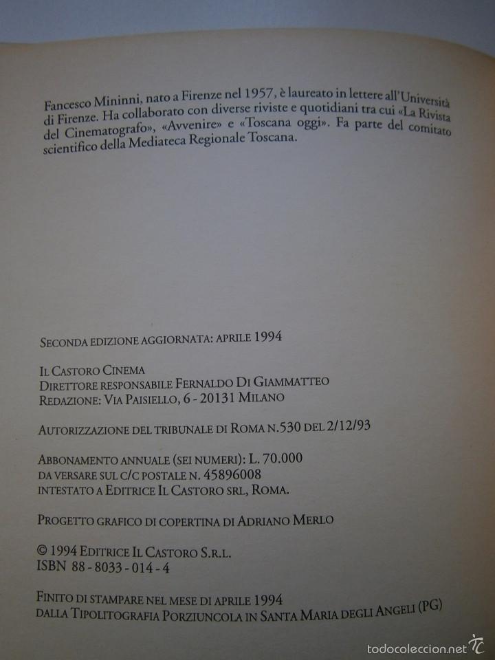 Cine: SERGIO LEONE IL CASTORO CINEMA Francesco Mininni 1994 - Foto 6 - 55124484
